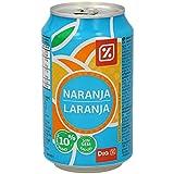 DIA - Refresco Sin Gas Naranja Lata 33 Cl