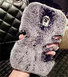 S7 Edge Rabbit Fur Case,Galaxy S7 Edge Rabbit Fur Case,Max-BLV Hot Soft Warm Rabbit Fur Hair Furry Luxury Bling Case Cover For Samsung Galaxy S7 Edge,NO39