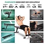Sportstech Banc de Musculation Pliable Multifonction Sit-up Fitness BRT100/500 inclinable muscu Entrainement, réglable, poignées Push-up Fitness Muscles abdominaux #3