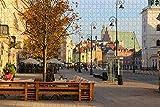 Polonia Castle Square Varsovia Rompecabezas para Adultos 1000 Piezas Regalo de Viaje de Madera Recuerdo