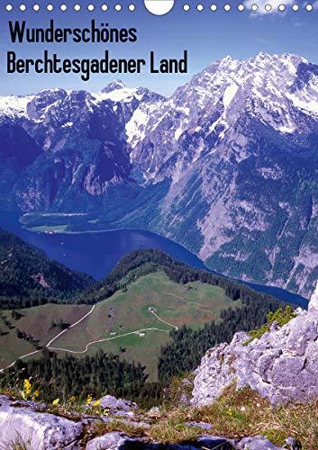 Wunderschönes Berchtesgadener Land (Wandkalender 2021 DIN A4 hoch)