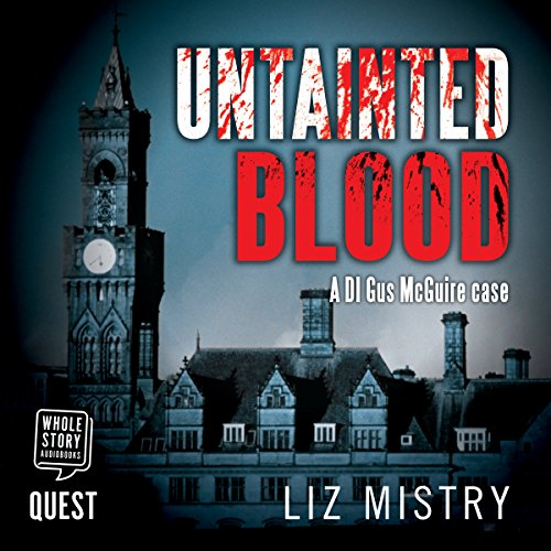 Untainted Blood audiobook cover art