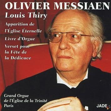 Olivier Messiaen : Apparition de l'Eglise éternelle - Livre d'orgue - Verset pour la fête de la dédicace
