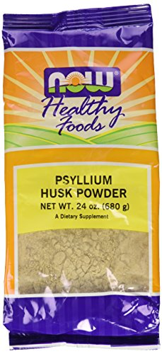 Now Foods Psyllium Husk Powder, 24-Ounce (Pack of 2)