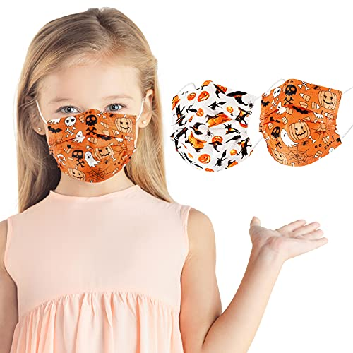 Disposable Halloween face masks