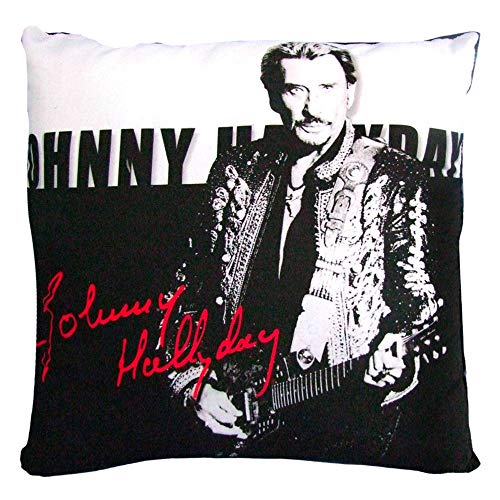 coussin Johnny Hallyday