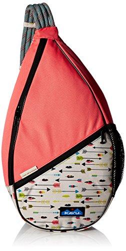 KAVU Paxton Pack Rope Sling Crossbody Bag - BW Textile