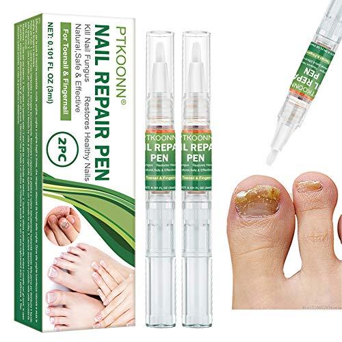 Cura delle unghie, Trattamento Unghie, Funghi Unghie Trattamento, Per dita e unghie dei piedi,Trattamento Fungino e Ristrutturante,Migliora la salute delle unghie di mani e piedi 2PCS