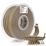 AMOLEN 3D Drucker Filament Holz, PLA Filament 1.75mm 1KG(2.2lb),+/- 0.03 mm,Wood 3D Drucker Materialien für 3D Drucker und 3D Stift -