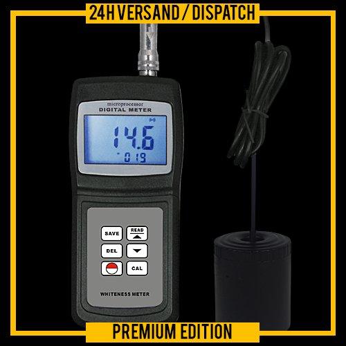 Weißgrad Messgerät Kolorimeter Opazimeter Weißwert Papierqualität Färben Drucken KM1