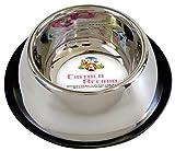 Croci Cocker Bol en Acier pour Chien 0,9 L/24 cm