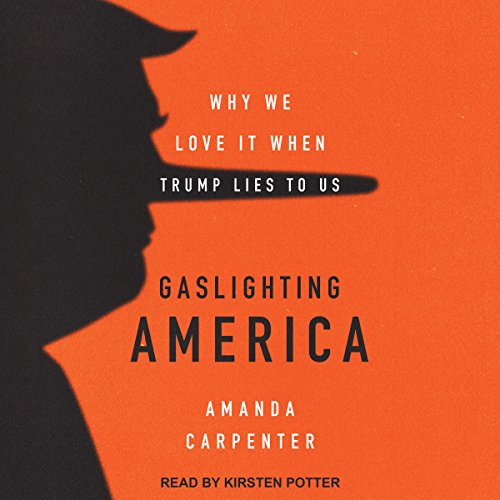 Gaslighting America audiobook cover art