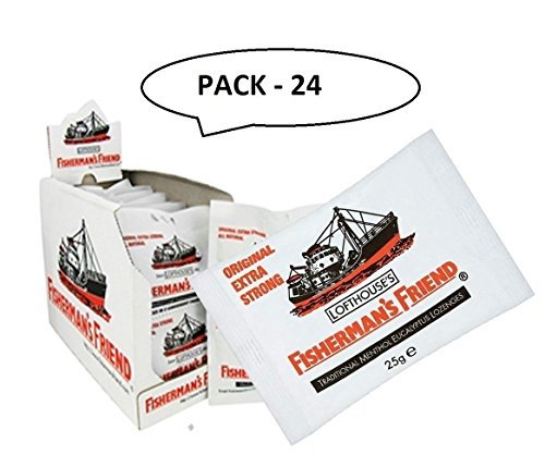 Fisherman's Friend Original Extra Strong Lozenge-PACK OF 24 [Personal Care] by Fishermans Friend