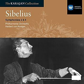 Sibelius: Symphonies 2 & 5