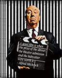 ALFRED HITCHCOCK Zitate Film, Film Cool Poster in allen
