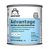 Mama Bear Advantage Baby Formula Powder with Iron, 2'-FL HMO for Immune Support, Infant Formula, 12.4 Ounce