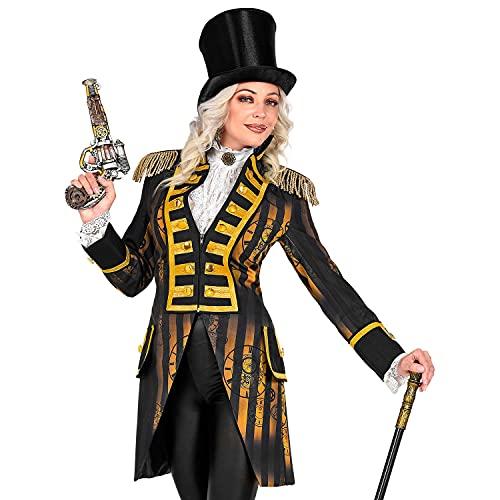 WIDMANN Widmann-49612 49612 Steampunk Parade para mujer, uniforme de garde, Timepunk, Spacepunk, disfraz, carnaval, fiesta temtica, multicolor, medium