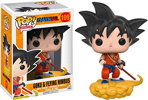 FunkoPOP!Dragon Ball: Goku y Flying Nimbus traje naranja Exclusivo