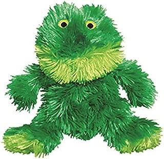 KONG Plush Frog Toy, Small, Green