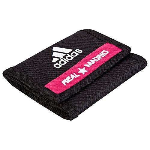adidas Real Wallet - Cartera-Monedero, Color Negro/Blanco, Talla única