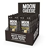 Moon Cheese 1 oz 12 packs (White Cheddar Black Pepper, 12 count)