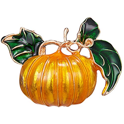 Ruby569y - Broche de esmalte para chaquetas y mochilas, diseo de calabaza de Halloween con incrustaciones de esmalte con incrustaciones de broche de suter y camisa, 2 #