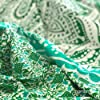 momomus Arazzo Mandala - Colorato - 100% Cotone, Grande, Multiuso - Arazzi da parete grandi - Stampe / Arredamento / Decorazioni per la Casa, Camera da letto o Muro - Telo Xxl, Verde 210x230 cm #2