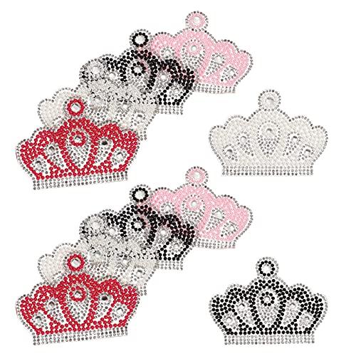 EXCEART Parche de Ropa 10 Piezas Parches de Diamantes de Imitación Hierro...