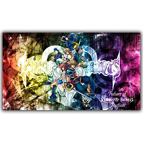 MY-supeng Puzzle Puzzles Jigsaw 1000 Piezas, Rompecabezas de Madera Jigsaw Juguetes intelectuales, Kingdom Hearts Puzzle para Adultos Foto de niños