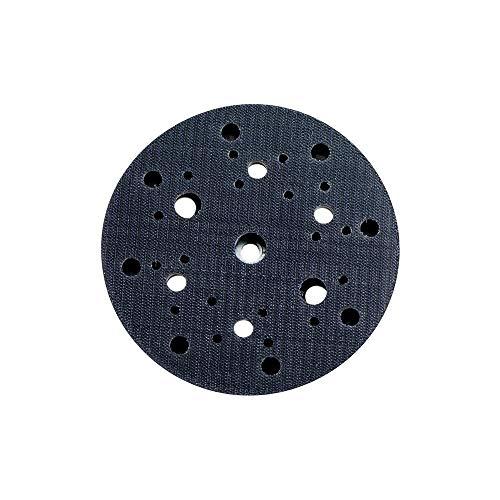 Metabo 624740000 624740000-Plato de Apoyo con Enganche Velcro 150 mm 8 Perforaciones dureza Media, Color:, Size