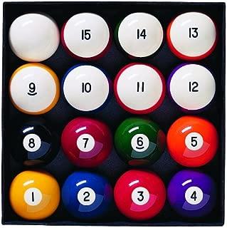 brunswick centennial pool and billiard balls set
