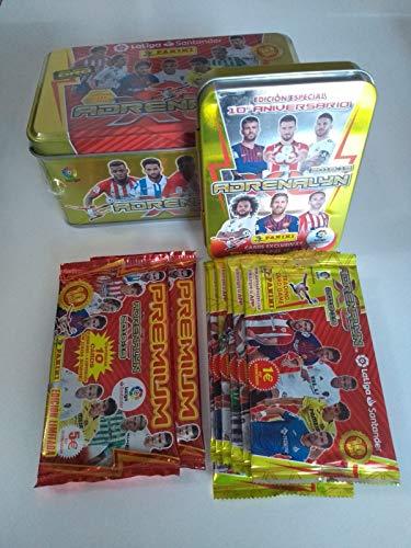 Adrenalyn Tin Box + Compact Box + 7 Sobres actualización + 2 Sobres Premium