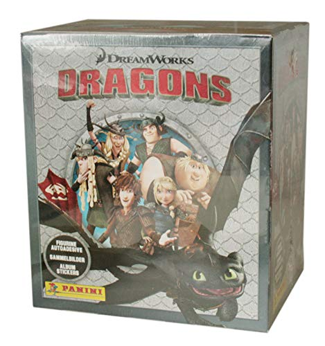 Panini - Dragons - Die Chroniken - Sammelsticker - 1 Display (50 Tüten)