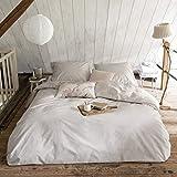 Walra Bettwäsche The New Vintage Sand, Uni 100% Baumwolle Perkal User Look