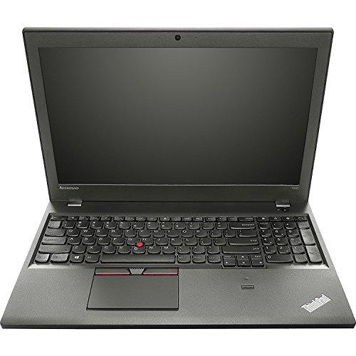 Lenovo ThinkPad T550 15,6 Zoll 1920x1080 Full HD Intel Core i5 256GB SSD Festplatte 8GB Speicher Windows 10 Pro UMTS LTE Webcam Tastaturbeleuchtung Notebook (Generalüberholt)