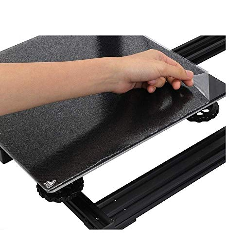 Hotbed Platform Build Surface Glasplatte 220220 mm / 235235/310310 mm für A6 A8 cr10 Ender-3 WanHao i3 3D-Druckerteil 3D-Druckzubehör (Größe: 235 x 235 mm) (Size : 310x310mm)