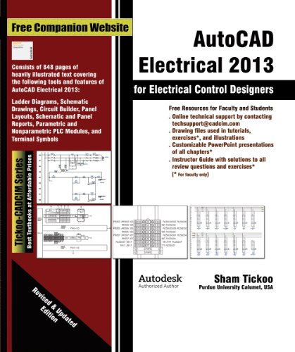 AutoCAD Electrical 2013 for Electrical Control Designers (English Edition)