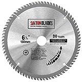TCT16080T Saxton TCT Lame de scie circulaire à bois 160 mm x 80 t pour Festool TS55 Bosch Makita Dewalt