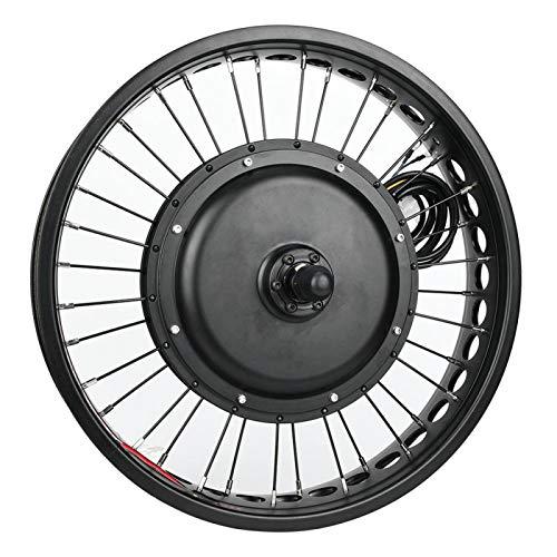 KUIDAMOS Kit de Motor de Bicicleta eléctrica de Alta Potencia Kit de conversión de Motor de Bicicleta eléctrica, para Bicicleta eléctrica, con medidor LCD(Rear Drive)