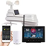 AcuRite 01151M HD Weather Station with AcuRite Access for Remote Monitoring, Compatible with Amazon Alexa,Black