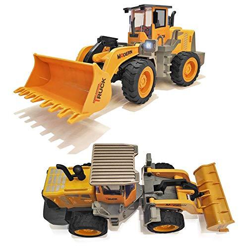 RC Auto kaufen Spielzeug Bild 2: 332PageAnn Rc Bagger Spielzeugauto Radlader Baufahrzeuge, 6 Kanal Simulationsfahrzeug Geburtstagsgeschenk Für Kinder*