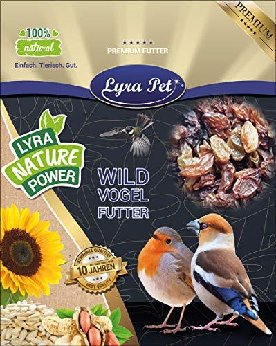 20 kg ROSINEN FÜR FUTTERZWECKE Lyra Pet Amselfutter Wildvogelfutter Vogelfutter
