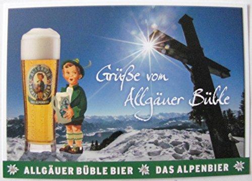 Allgäuer Brauhaus - Büble Bier - Grüße von Allgäuer Büble - Postkarte - Motiv 06