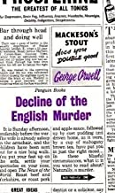 Decline of the English Murder [Penguin Great Ideas] by Orwell, George [Penguin Books,2009] [Paperback]