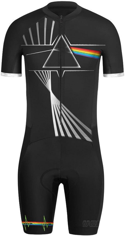 Uglyfrog Designs Mens Short Triathlon Suit Trisuit Cycling Skinsuits Speedsuit Compressible Breathable & Quick Drying for Biking wear