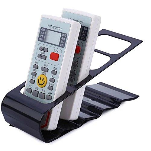 1 support de rangement pour télécommande Noir