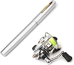 Lixada Pen Fishing Rod Reel Combo Set Premium Mini Pocket Collapsible Fishing Pole Kit..