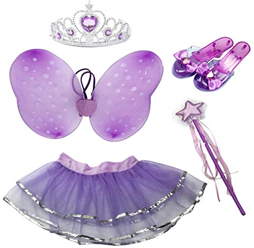 Little Fairy Princess Dress Up Role Play Costume Set for Girls