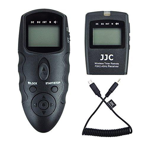 JJC Disparador Remoto Temporizador mandos a Distancia para Sony Alpha A7RIII A7III...