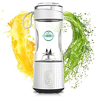 2020-Neue-Version-SuperkraftLaHuko-Smoothie-MakerTragbarer-Mixer-Juice-BlenderStandmixer-380ml-Hochleistung-MixerUSB-WiederaufladbarIdeal-fr-Smoothie-Milkshake-ReiseFitness